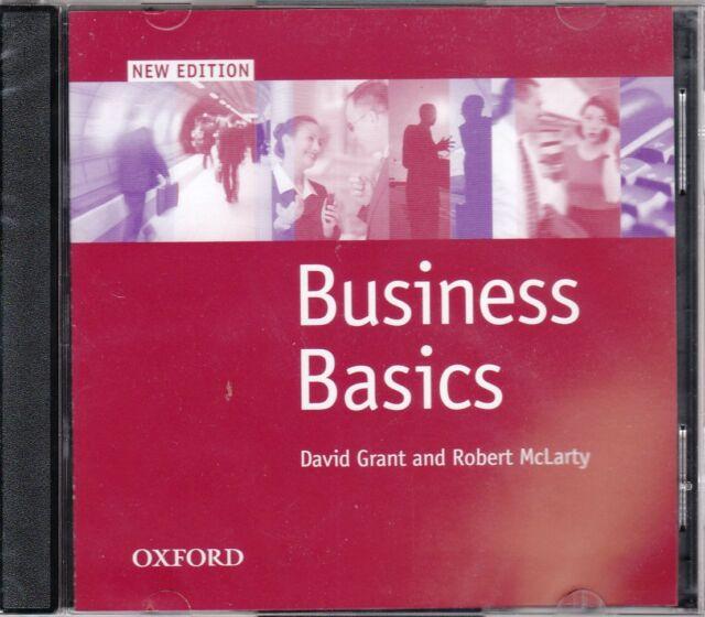 Oxford BUSINESS BASICS New Edition CLASS AUDIO CDs @BRAND NEW@