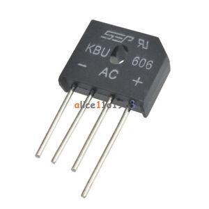 10PCS-KBU606-DIOTEC-SEMICONDUCTOR-KBU606-High-Quality