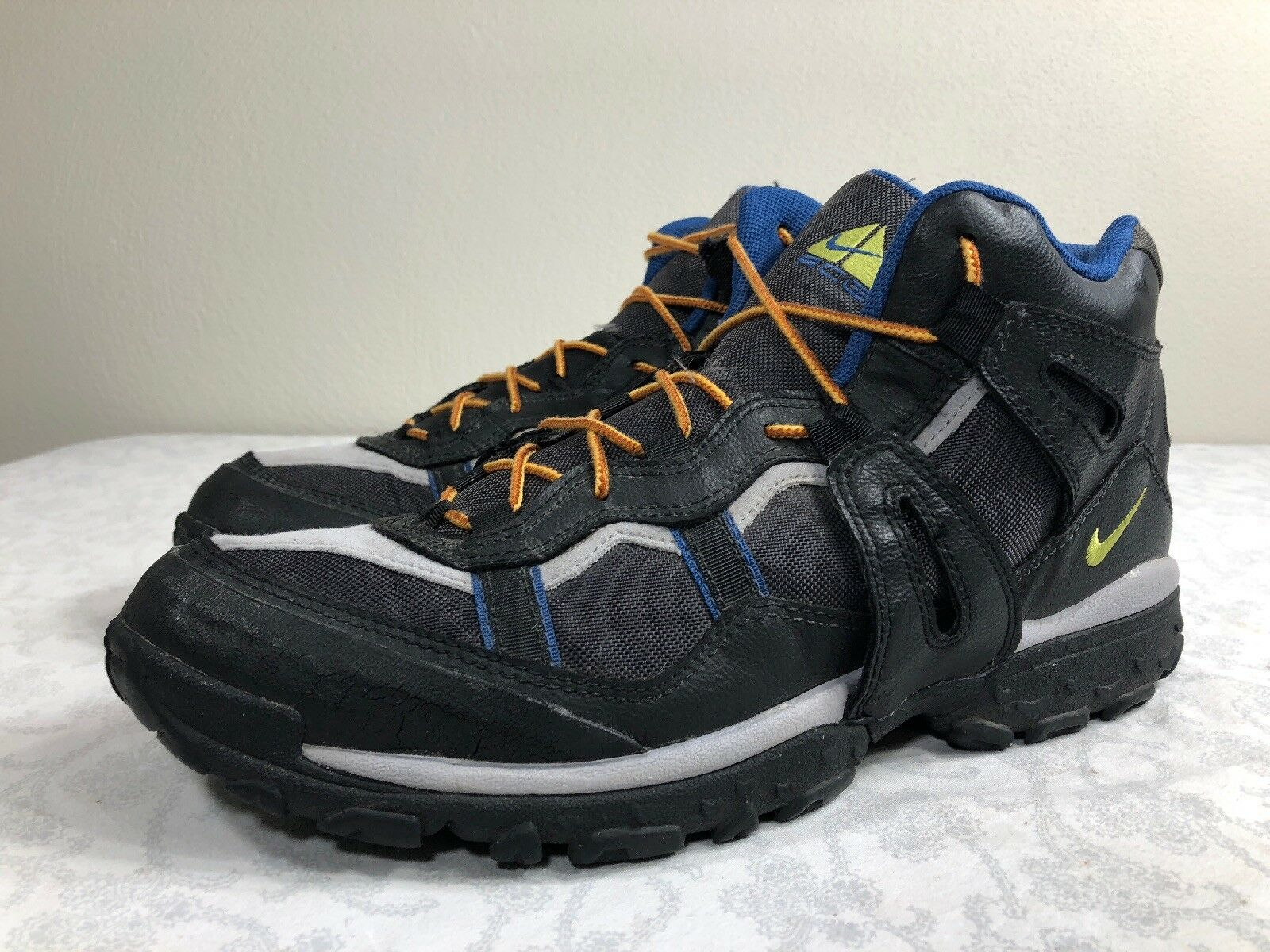 VTG 1997 Nike ACG Boots OG Zoom Air Trail Hiking Athletic Men's 12 Swoosh 90s