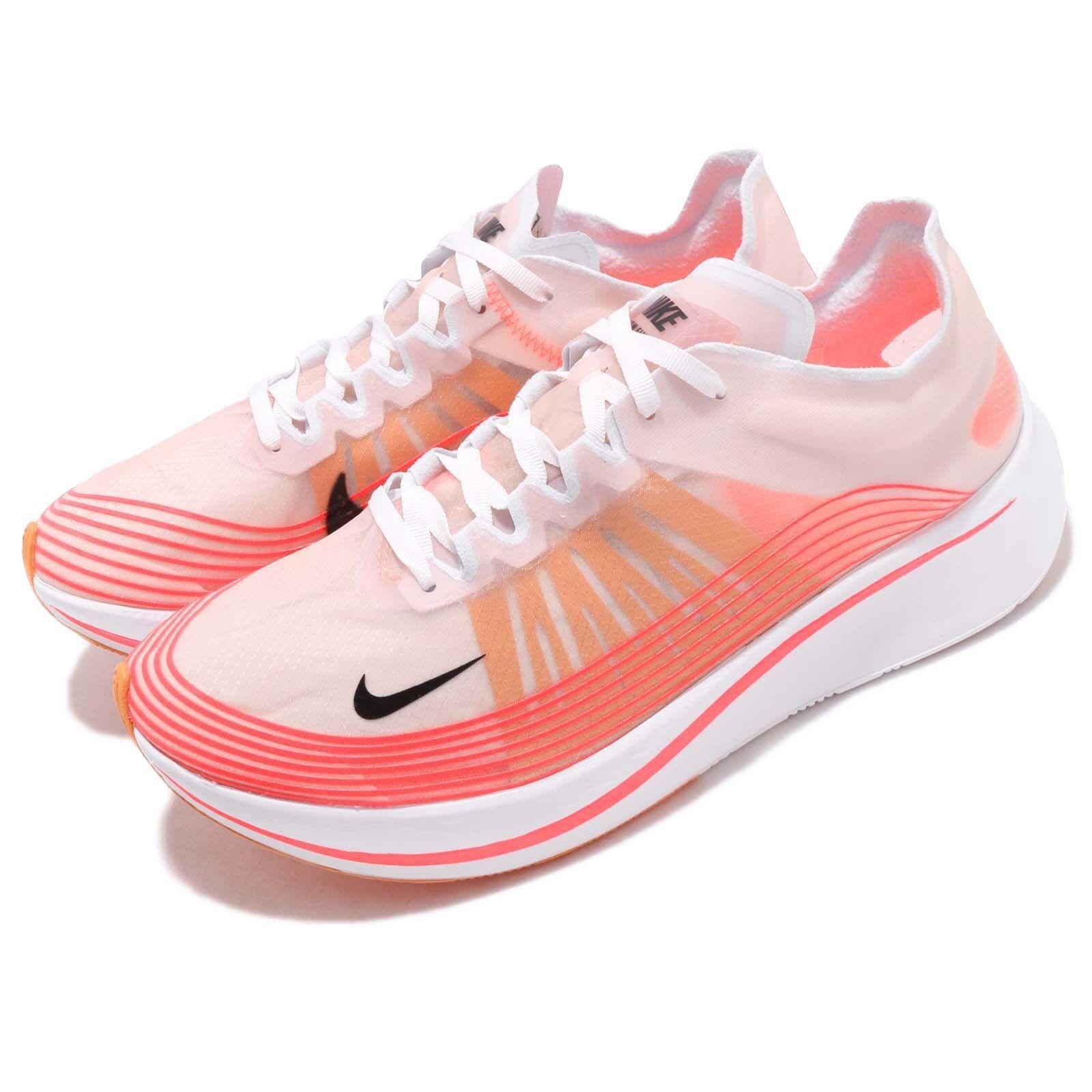 Nike Zoom Fly SP Varsity Rojo Negro blancoo Hombres Running Zapatos TENIS AJ9282-600