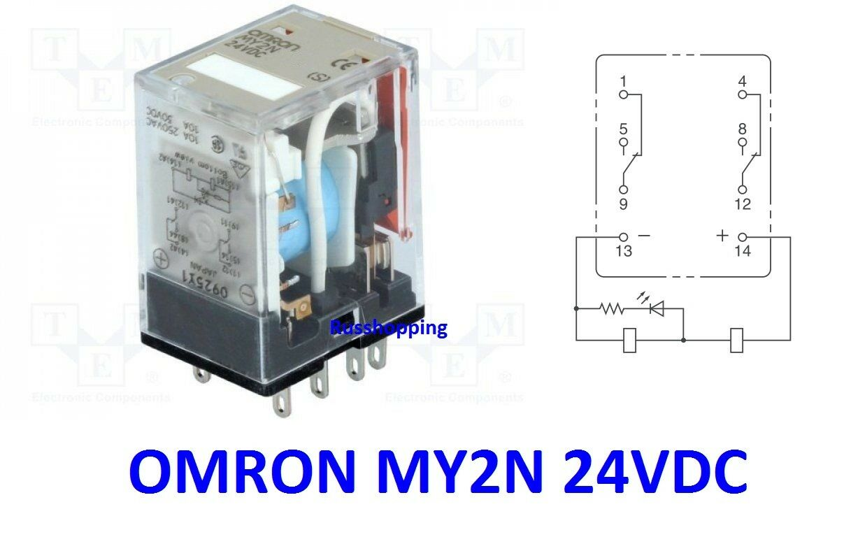 General Purpose Relays Omron My2n 8