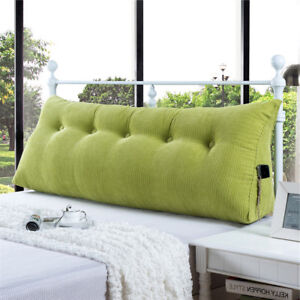 Bed Rest Wedge Reading Pillow Bolster