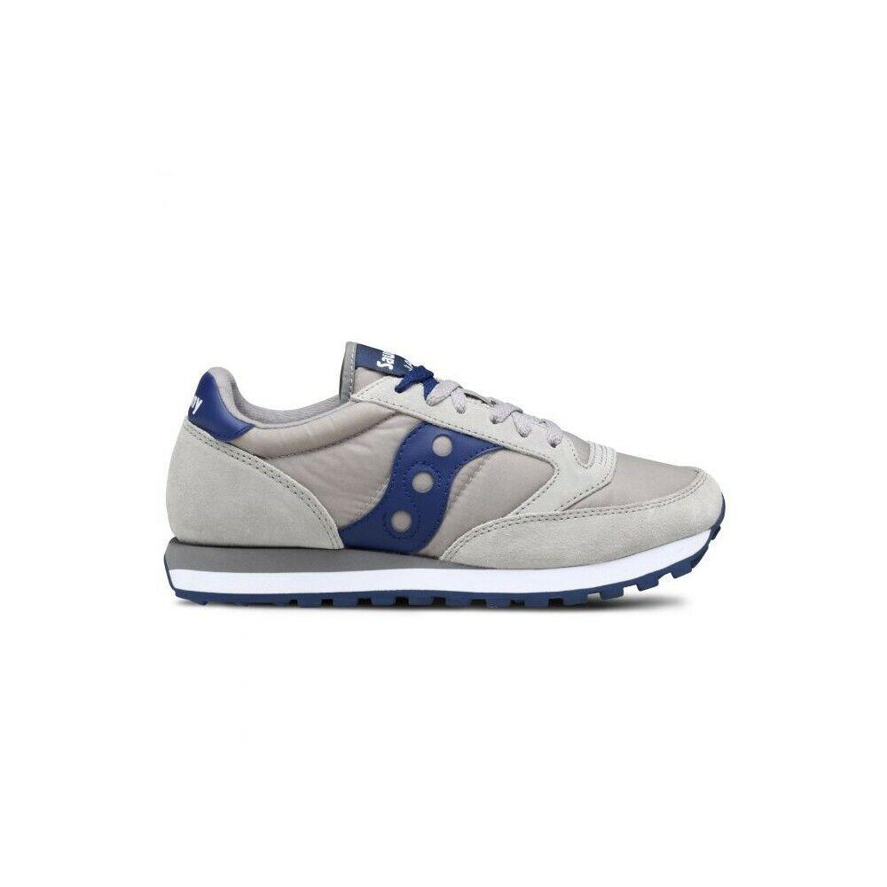 Saucony - Herren Schuhe Jazz Grau+Blau S2044-307 -20% von Rabatt