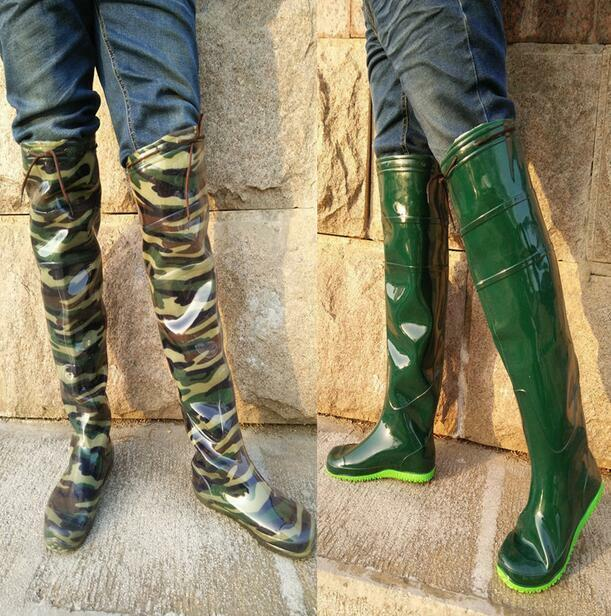 Men's Fashion Womens ladies Boots New OverkneeBoot Wellington Boots ladies Size: 534d28