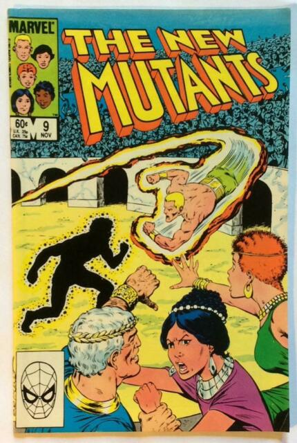 The New Mutants #9. Marvel 1983. FN condition Issue.