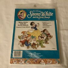 Counted Cross Stitch kit Snow White and the Seven Dwarfs Craft Kit CR3003