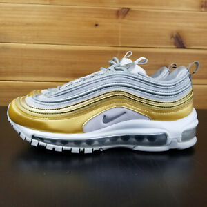 Details about Nike AIR MAX 97 SE Vast GreyMetallic Silver Gold AQ4137 001 Women's Sz 7