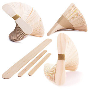 Waxing-Sticks-Wooden-Wax-Applicators-Spatulas-Depressors-Eyebrow-Leg-Bikini-Line