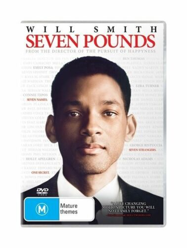 1 of 1 - Seven Pounds (DVD, 2009) Will Smith
