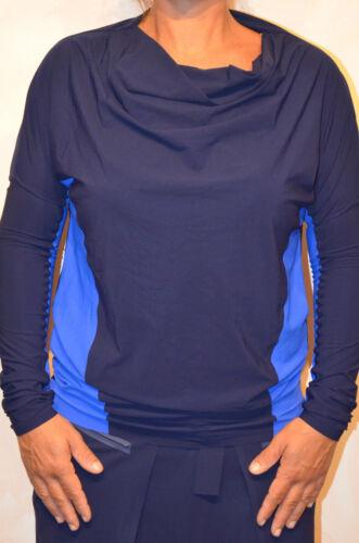 Tunique Girbaud 38 Bi Longues Taille Marithé Francois color Bleu Manches pxw6Bpnqg