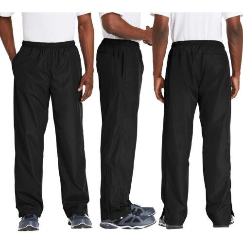 4XL 3XL Mens Athletic Pants Water Wind Resistant Pockets Lightweight XS-XL 2XL