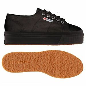 Zeppa Con Down Superga And Donna Up 2790 Nera Scarpe Full S0001l0 Acotw Black wxRBRtqC