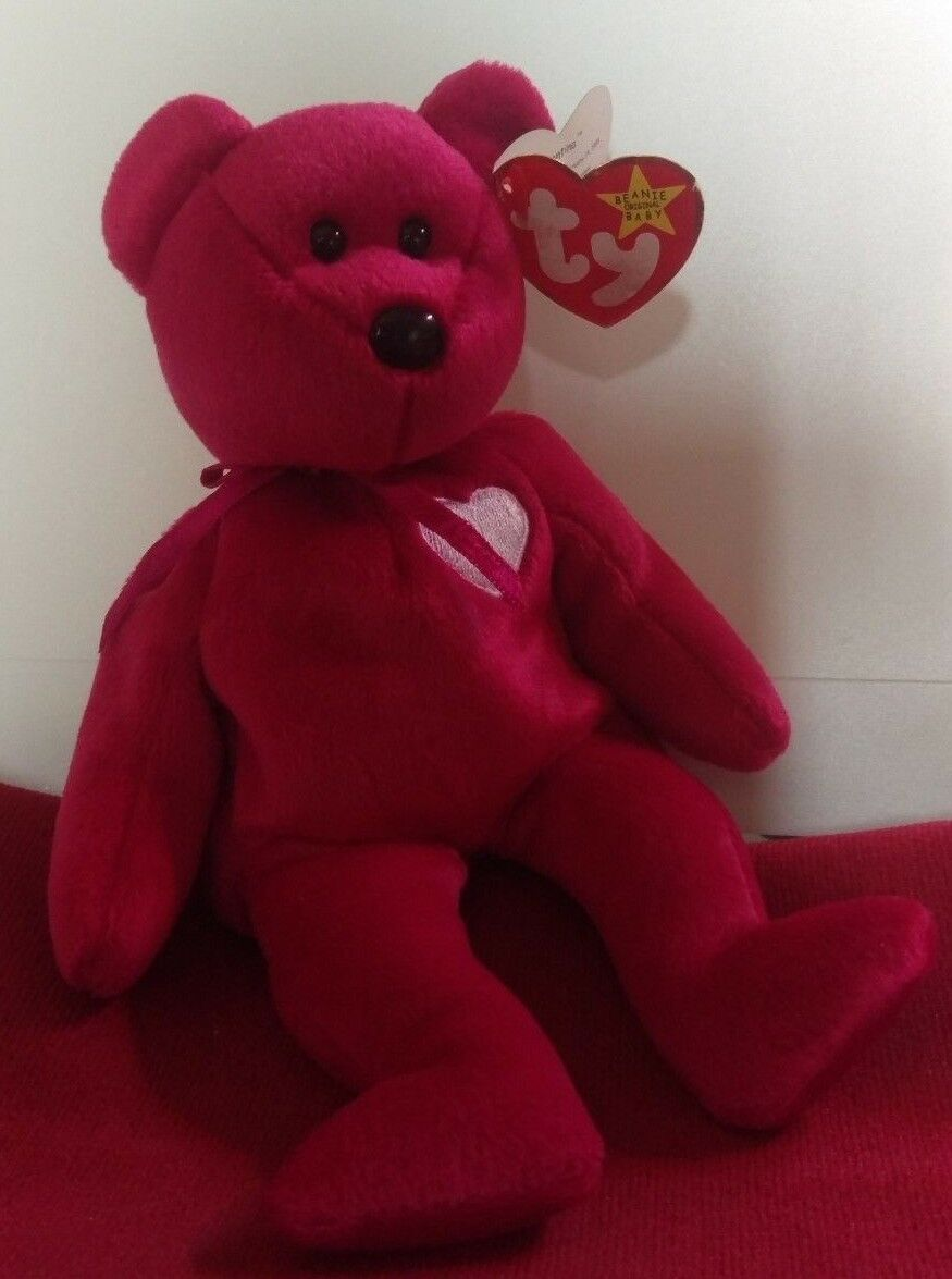 TY Beanie Babies Valentina Bear with Tag Retired