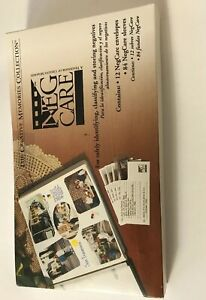 Creative Memories Neg Care Box New In Pkg