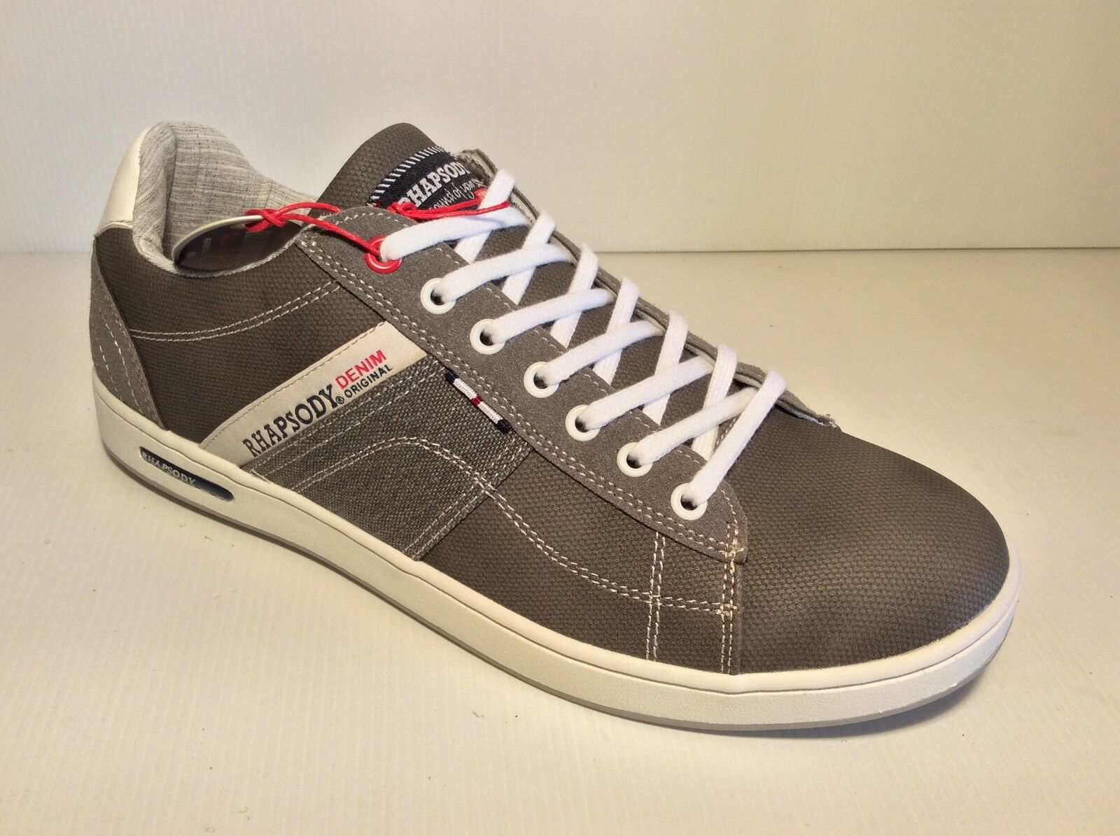 f7d6abf26f204 MEN S SHOES RHAPSODY 705101 COL GREY SNEAKERS MODE. Lacoste Fairlead 1171  BRZ CAM Leather ...