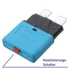 12V / 15A KFZ Sicherungsautomat Flachsicherung Sicherung für LKW PKW & Boot usw.