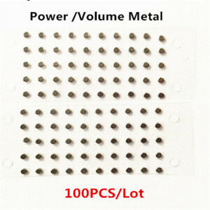 100x-Power-Volume-Button-Metal-Spacer-Shim-Holder-for-iPhone-5S-6-6S-7-8-X-Plus