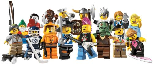 Lego Minifigures Serie 4 - 8084 - Figurines neuves au choix / New choose one