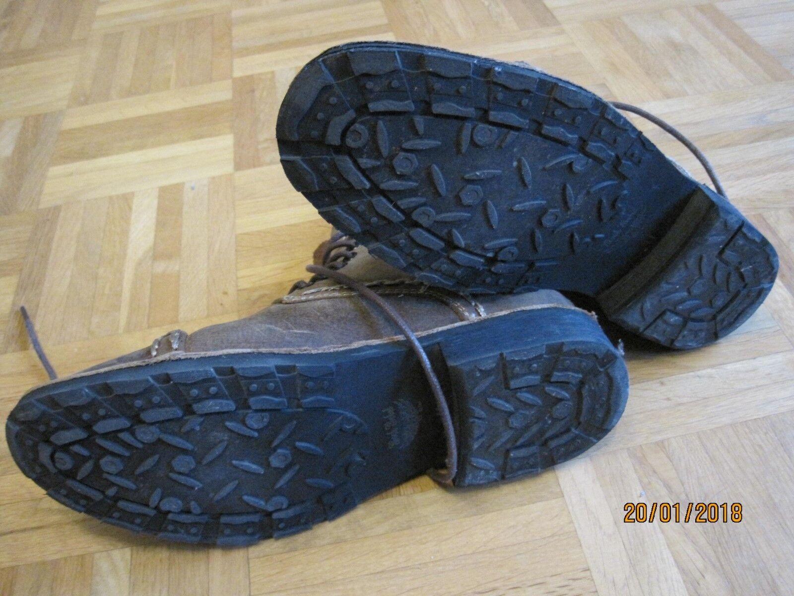 Rock Rebel by EMP Corded EU41 Leder Boot Stiefel braun EU41 Corded 9b9a05