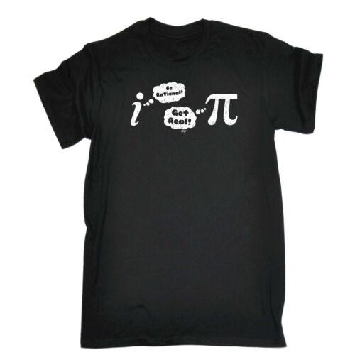 Drôle Nouveauté T-shirt homme tee tshirt-BE Rational Get Real