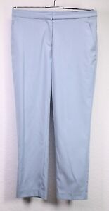 GJ19-2 H&M Damen Hose Ankle Slacks Chino blau hellblau Gr. 34 L26 Stretch