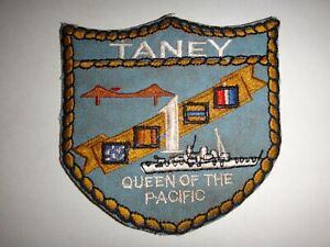 Vietnam-Guerra-Uscgc-Uss-Taney-WHEC-37-Queen-Of-il-Pacific-Toppa