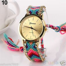 New Geneva Ethnic Analog Quartz Women's Bracelet Wrist Watch-PL  IN BOX PACKING