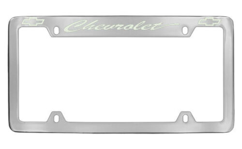 Chevrolet Chevy Chrome License Plate Frame Holder | eBay