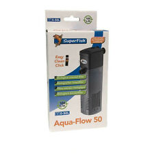 Superfish Aqua Flow 50 Internal Filter Fish Tank Aquarium up to 50L 100L/H