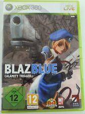 !!! XBOX 360 SPIEL Blaz Blue, gebraucht aber GUT !!!