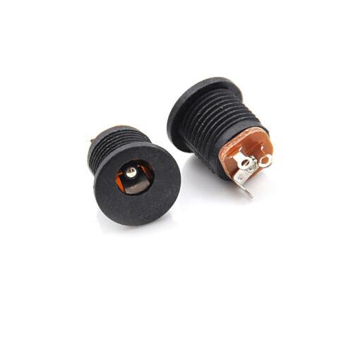 10X Female Plug Jack+Male Plug Jack Socket Adapter Connector 5.5*2.5 mm DC022 UE