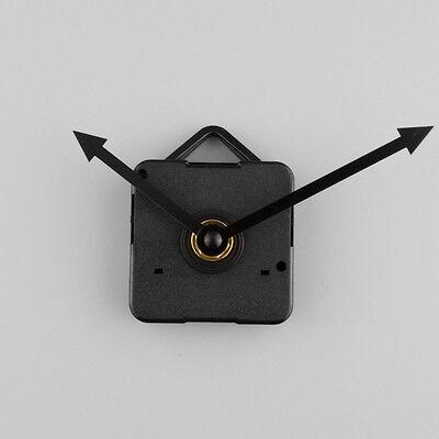 Clock Quartz Movement Mechanism Black Arrow Hand Replacement Repair Kit Set