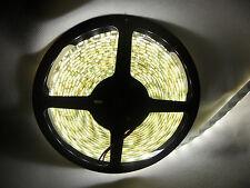 5M 300 LED 5050 SMD Weiß Wasserdicht Licht Strip Leist Streifen 4500K DC 12V