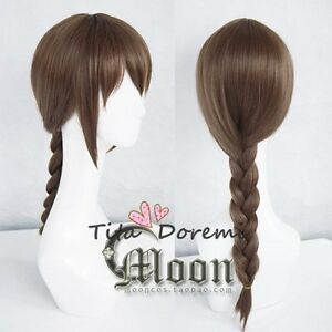 Halloween Wig Cosplay A3 red black Music grame short Anime party fashion Hair