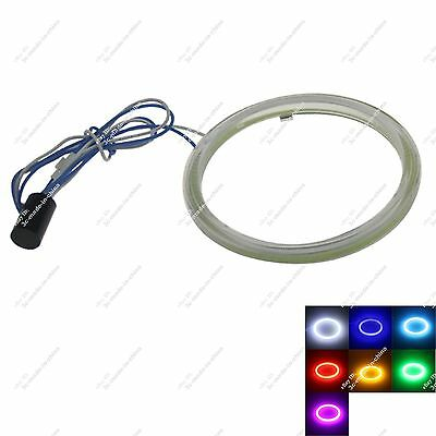 1X 85mm COB Led Halo Rings Angel Eye for Cars Headlights Multicolor Non Polarity