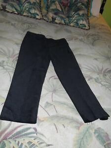 TALBOT-034-S-Black-Velvet-Capri-039-s-Cute-Tight-Perfect-Retro-Look-4P-Fab