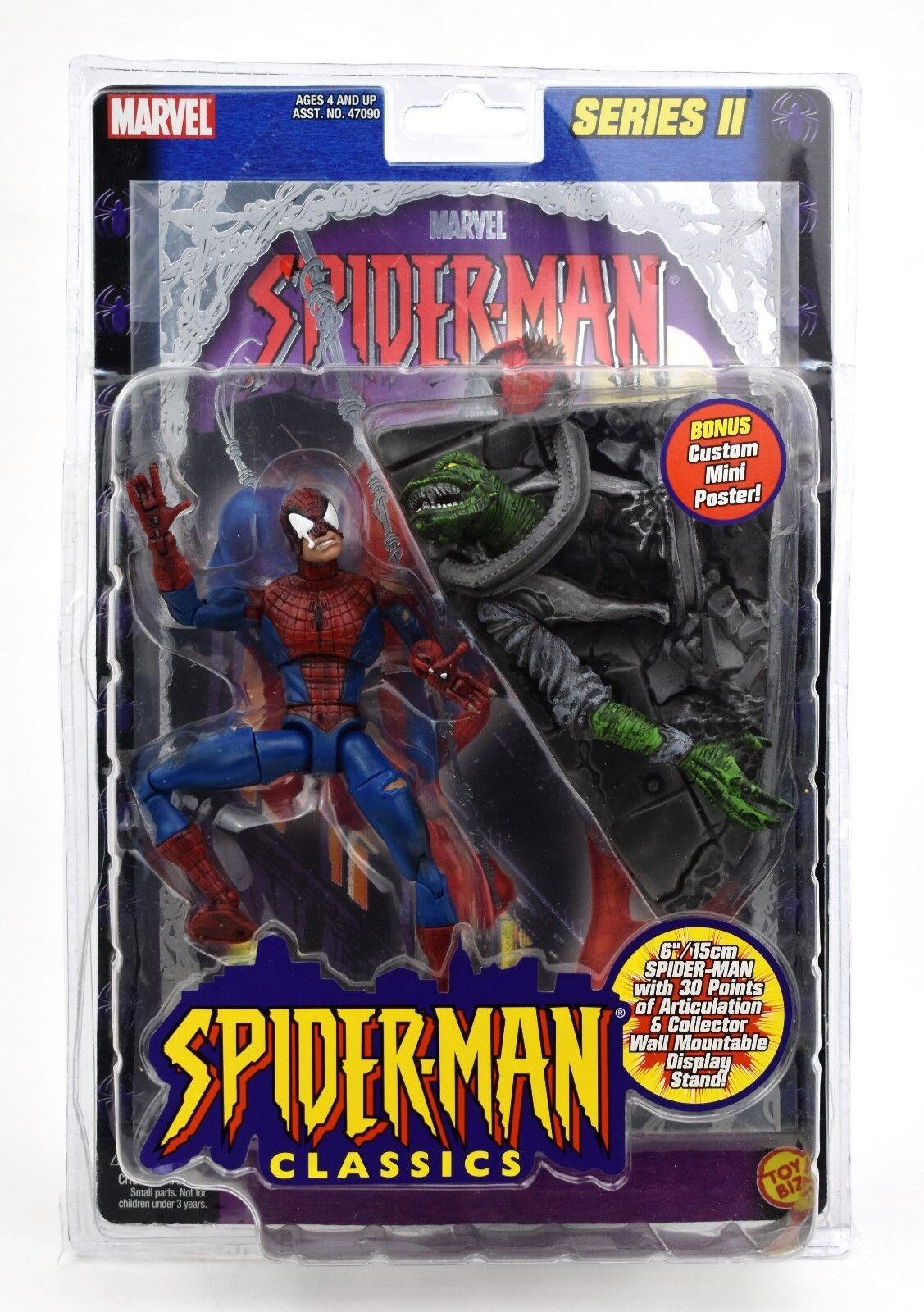 Spider-Man Classics Series II (Foil) - Battle Ravaged Spider-Man Action Figure