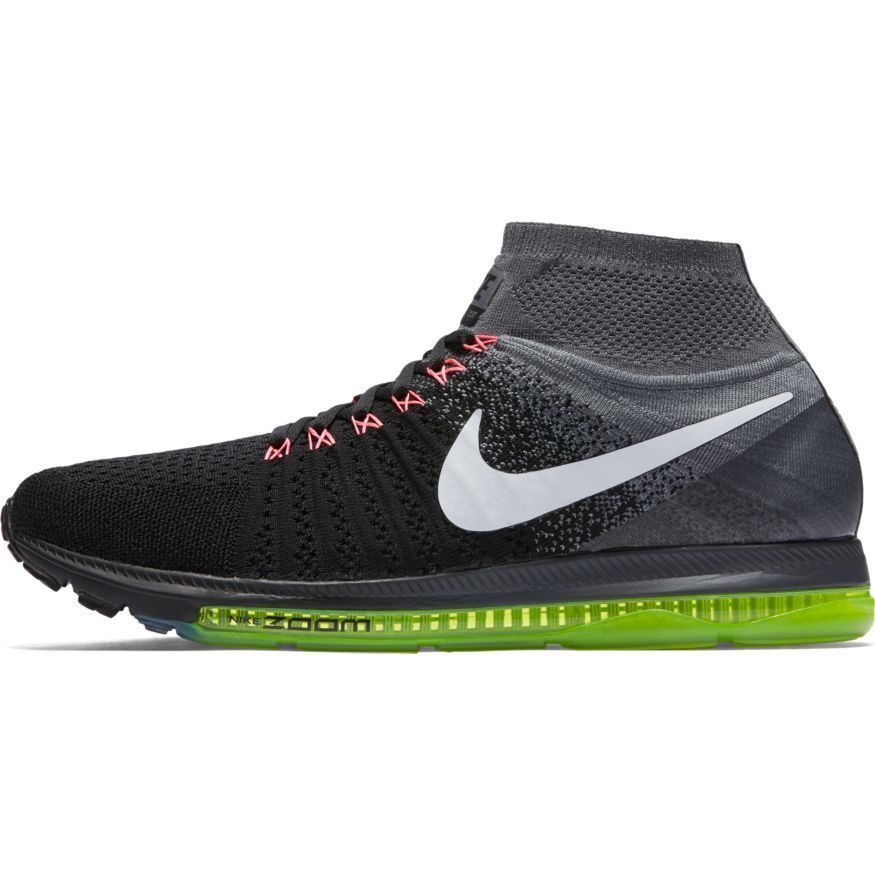 Nike Zoom All Out Flyknit Mens Running shoes 844134 002 RARE MSRP  200 Rare