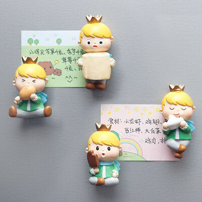 The Little Prince Le Petit Prince Movie Toys Doll Figure Model Tile Magnets