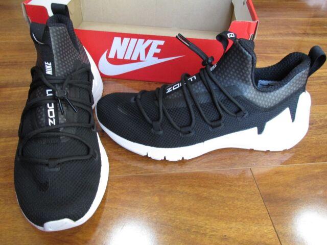 sports shoes a38ff 65a56 NEW NIKE AIR ZOOM GRADE SHOES MEN SZ 11 BLACK WHITE 924465-001  130