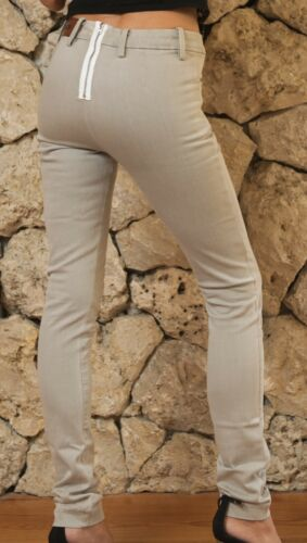 Acne  Skinny .mid rise, Back Zip Jeans