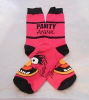 The Muppets Animal party Animal Pink Crew Socks Unisex