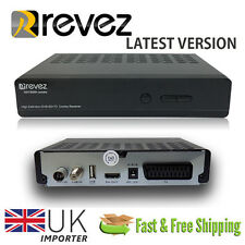 Revez Full HD 1080p Satellite & Terrestrial Caravan Mobilehome Set Top Box 12v