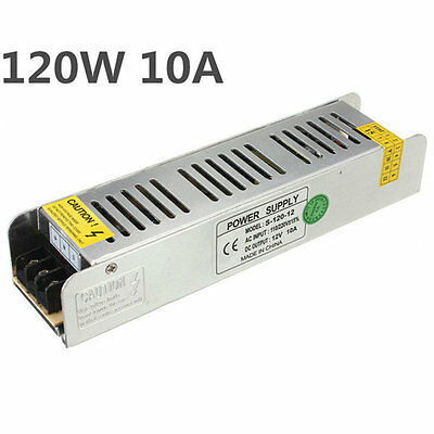 120W 12V 10A Switching Switch Power Supply Driver For LED Strip Light IB