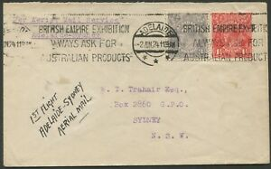 Aerophilately-2-June-1924-AAMC-71-Adelaide-Sydney-First-AAS-flight-via