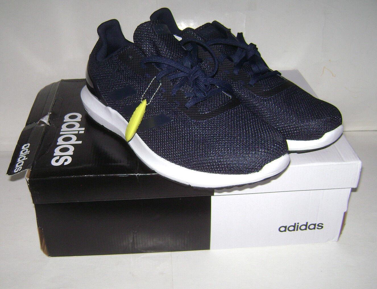 NIB adidas cloudfoam Men COSMIC Sz 2 Running Sneakers Shoes Sz COSMIC 11.5 Blue DB1757 993466