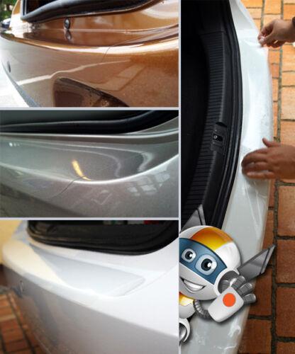Apto para peugeot 308sw coche familiar hasta 2013 pintura lámina de protección parachoques