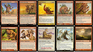 MTG-Boros-Giant-Deck-Brion-Stoutarm-Magic-the-Gathering