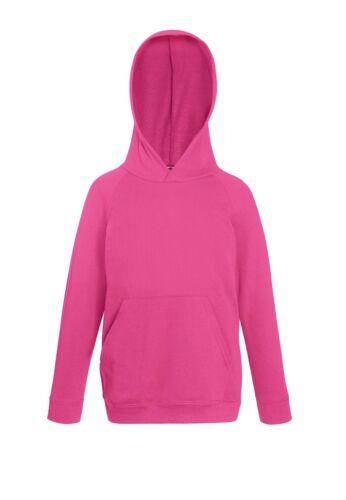FOTL Kids Hoodie Sweatshirt TOP Casual Plain Lightweight Comfort Children Hood