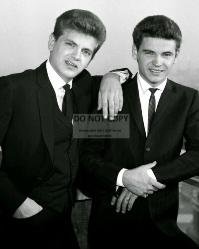 AA-711 8X10 PUBLICITY PHOTO THE EVERLY BROTHERS